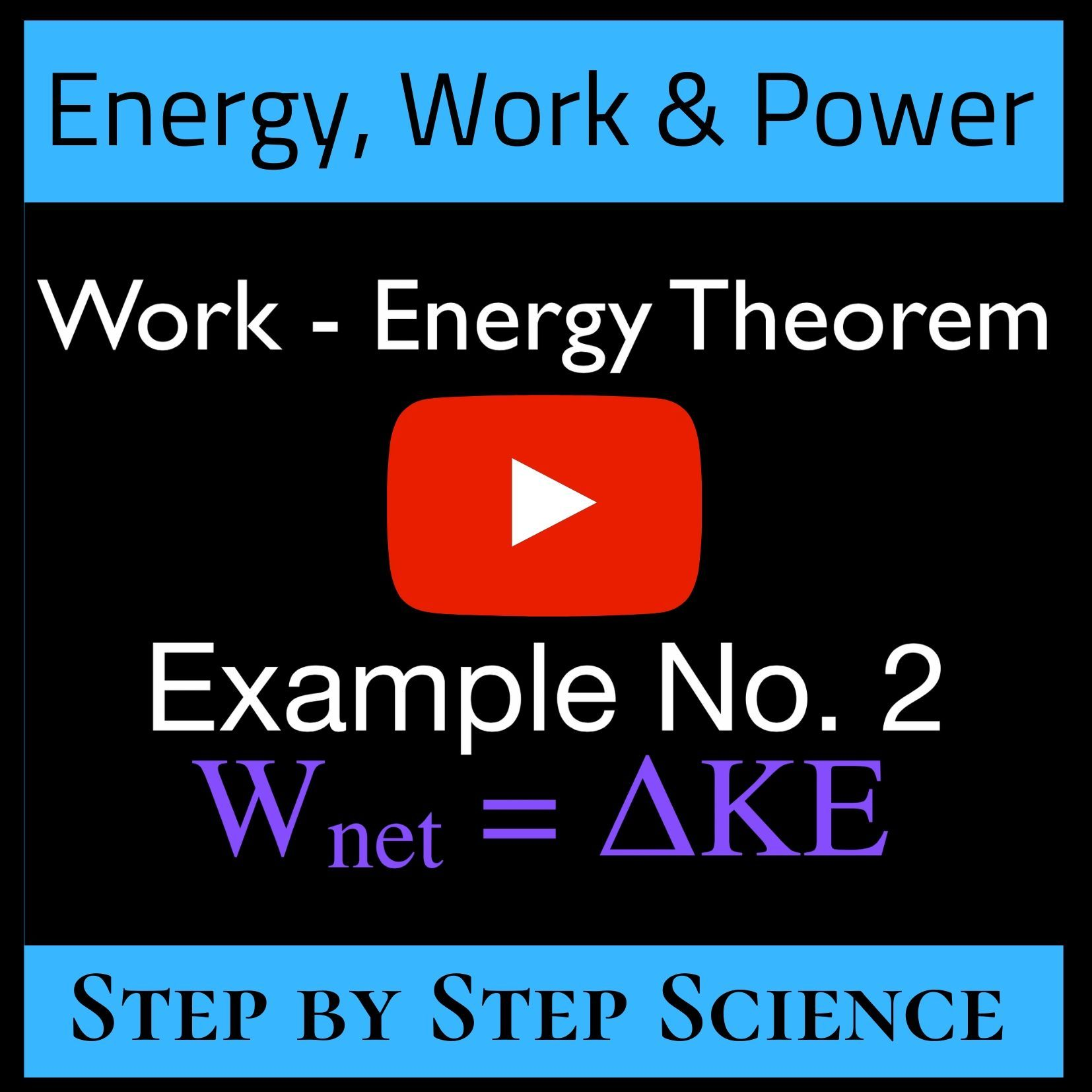 Work Energy Calculations Worksheet Answers