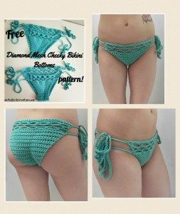 Crochet cheeky bikini bottom pattern free sizes xs s m l crochet cheeky bikini bottom pattern free sizes xs s m dt1010fo
