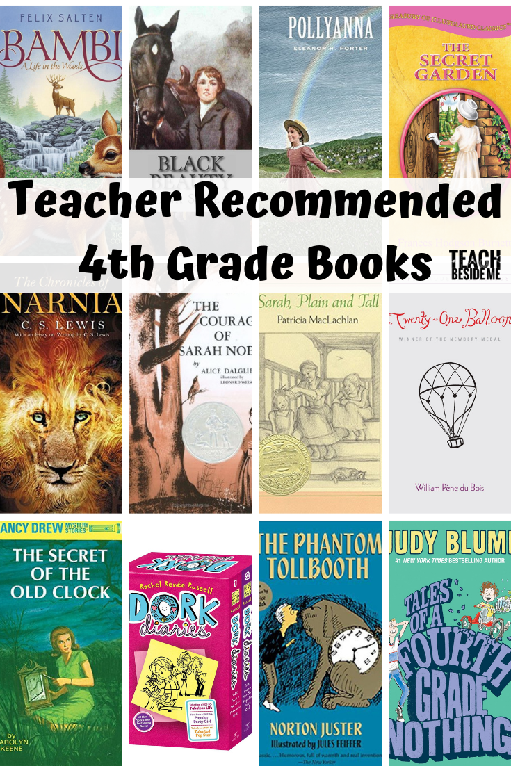 Teacher Recommended Fourth Grade Books 4th Grade Books Elementary Books Grade Book