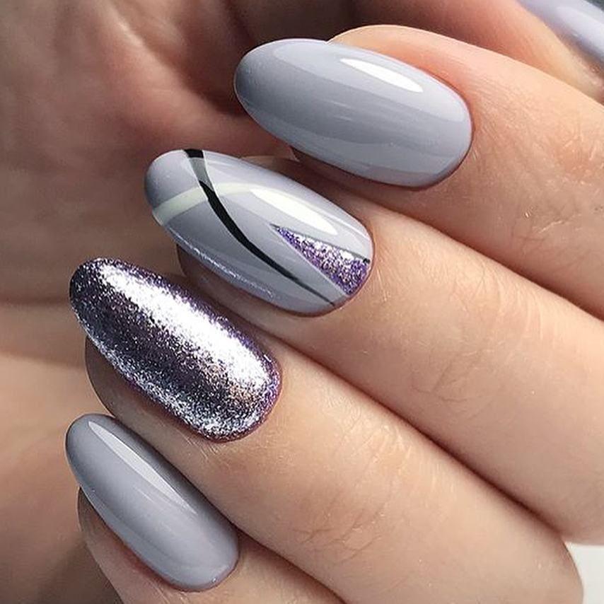 Shellac Gel Manicure Trendy Nails Fake Nails Gel Nails