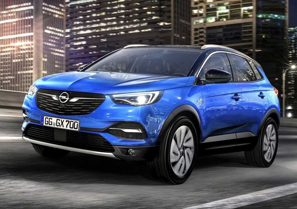 2018 2019 Opel Grandland X The Elder Brother Of Crossland X