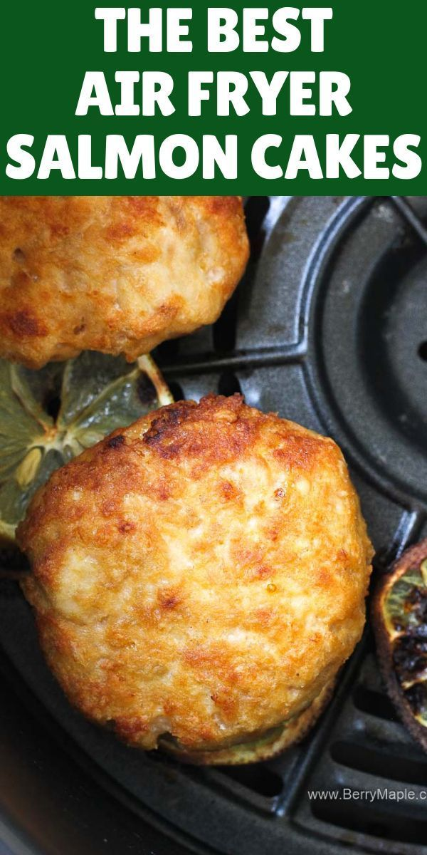 Try this Air fryer salmon cakes, so delicious, juicy and