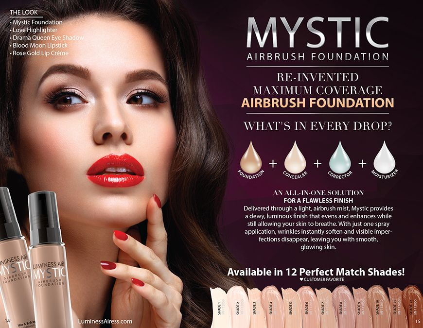 Become An Luminess Airess Today Join My Team This Is So Much Fun I Can T Begin To Express How Much I Enjoy T Airbrush Foundation Lip Creme Beauty Consultant