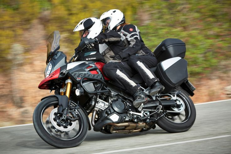 suzuki v-strom 650 two riders - Google Search