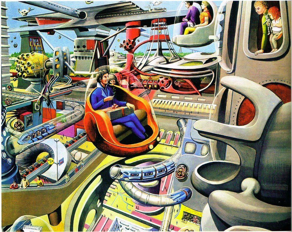 70s scifi art retro futurism 70s sci fi art