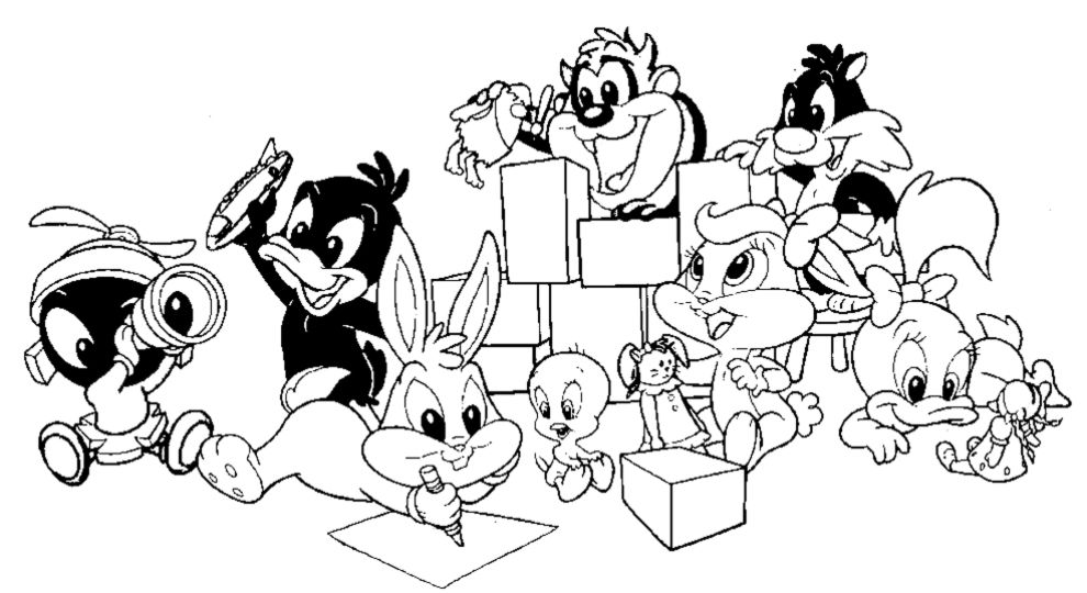 baby looney tunes coloring pages bing images coloring page pinterest looney tunes