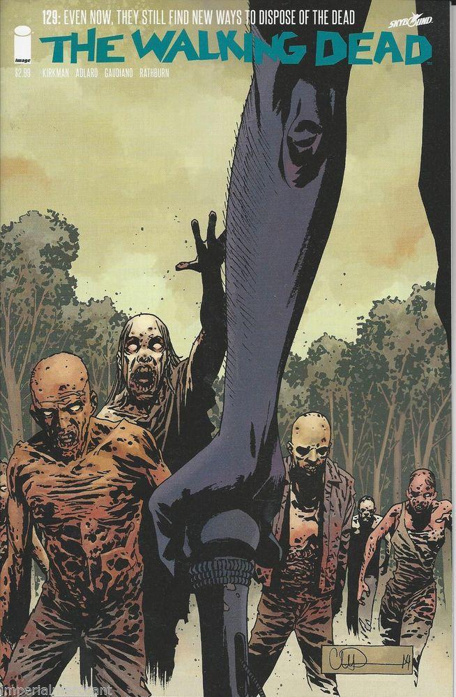 The Walking Dead comic issue 129 Comic, Walking dead and Walking
