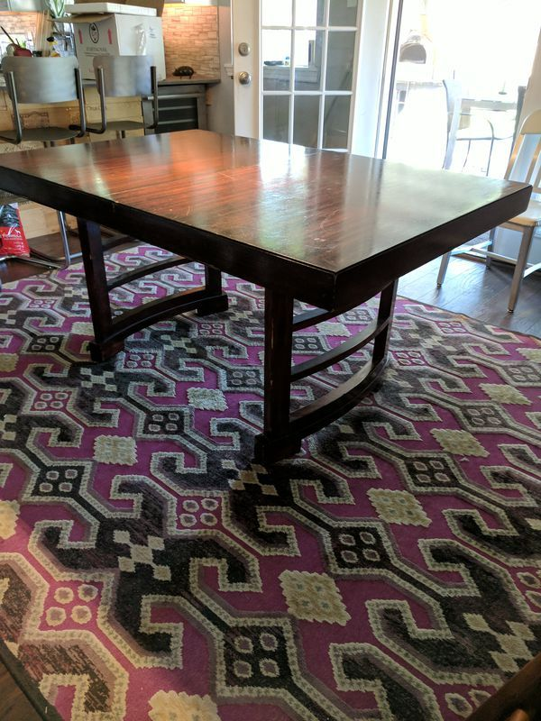 Antique Dining Table With Leaves In Richardson TX Sells For - Dining table with 3 leaves