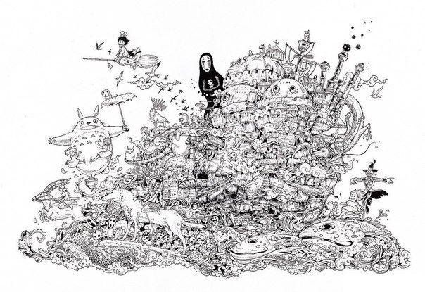 Hayao Miyazaki Miyazaki Kunstproduktion Kunstlerbedarf