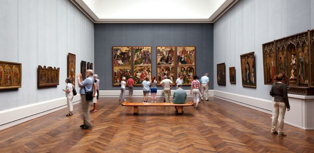 Gemaeldegalerie - A wide selection of European artwork, dating from the 1200s through the 1700s, can be found at this popular museum.  Matthaeikirchplatz, 10785 Berlin, Germany (Mitte)
