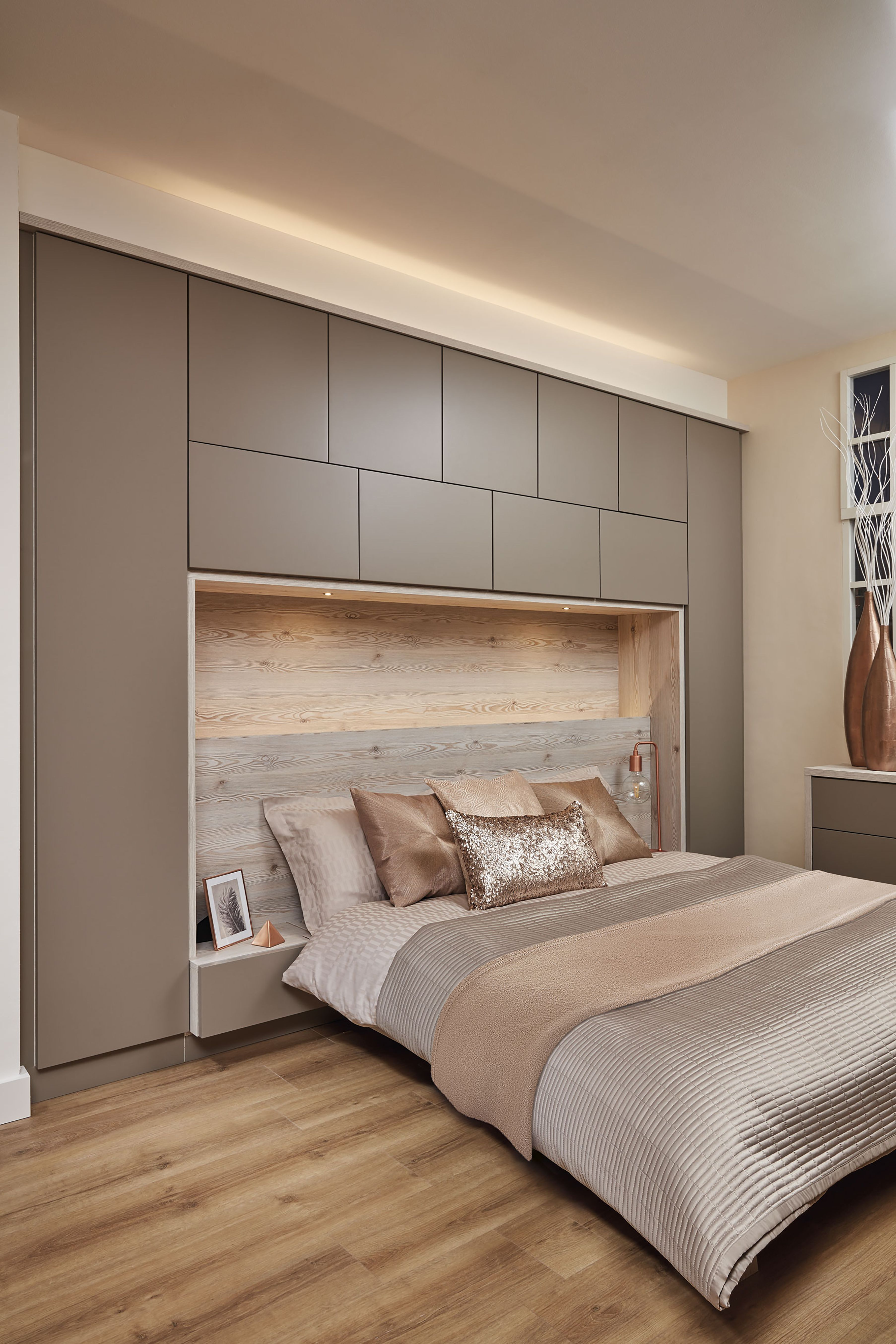 Over Bed Storage Contemporary Willow Bedroom In 2019