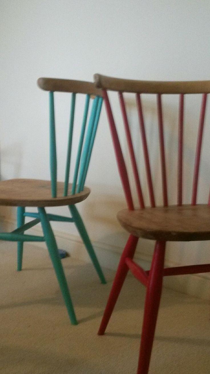 beautiful chaises bois idee deco meubles meubles ercol meubles surcycls peinture des chaises la. Black Bedroom Furniture Sets. Home Design Ideas