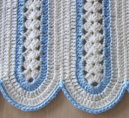 Here\'s a mile-a-minute afghan that I made to order for someone whose ...
