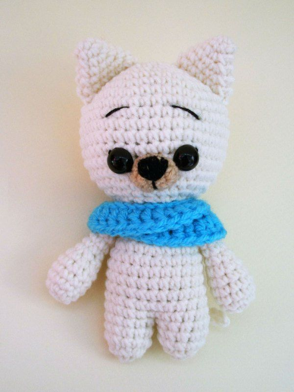Free Crochet Animal Patterns Cat Amigurumi Pattern Pinterest