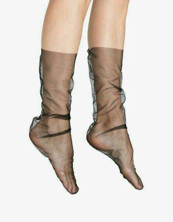 d68ec9b97 Sheer Socks
