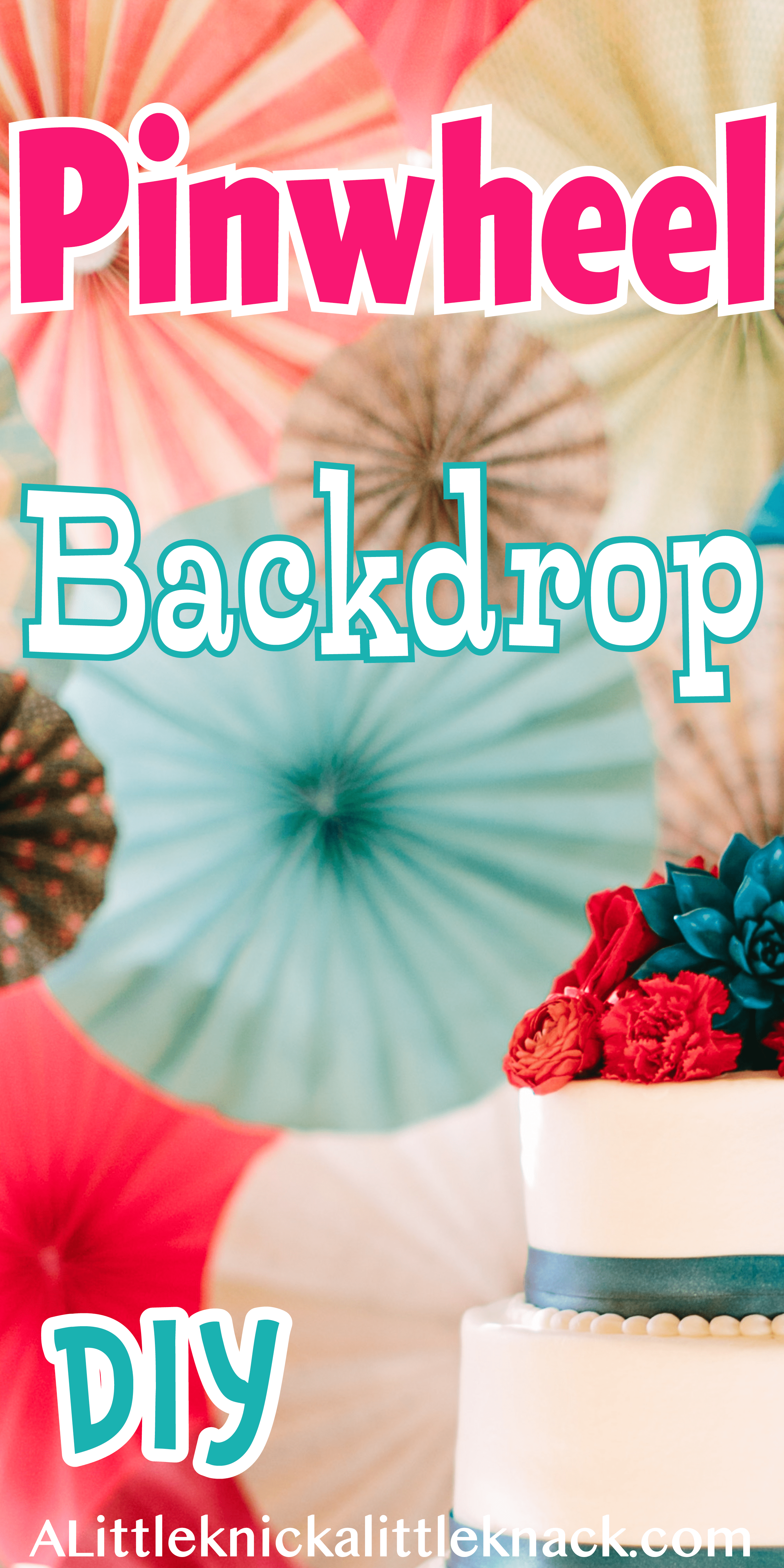 DIY Pinwheel Backdrop | Diy pinwheel, Romantic wedding ...