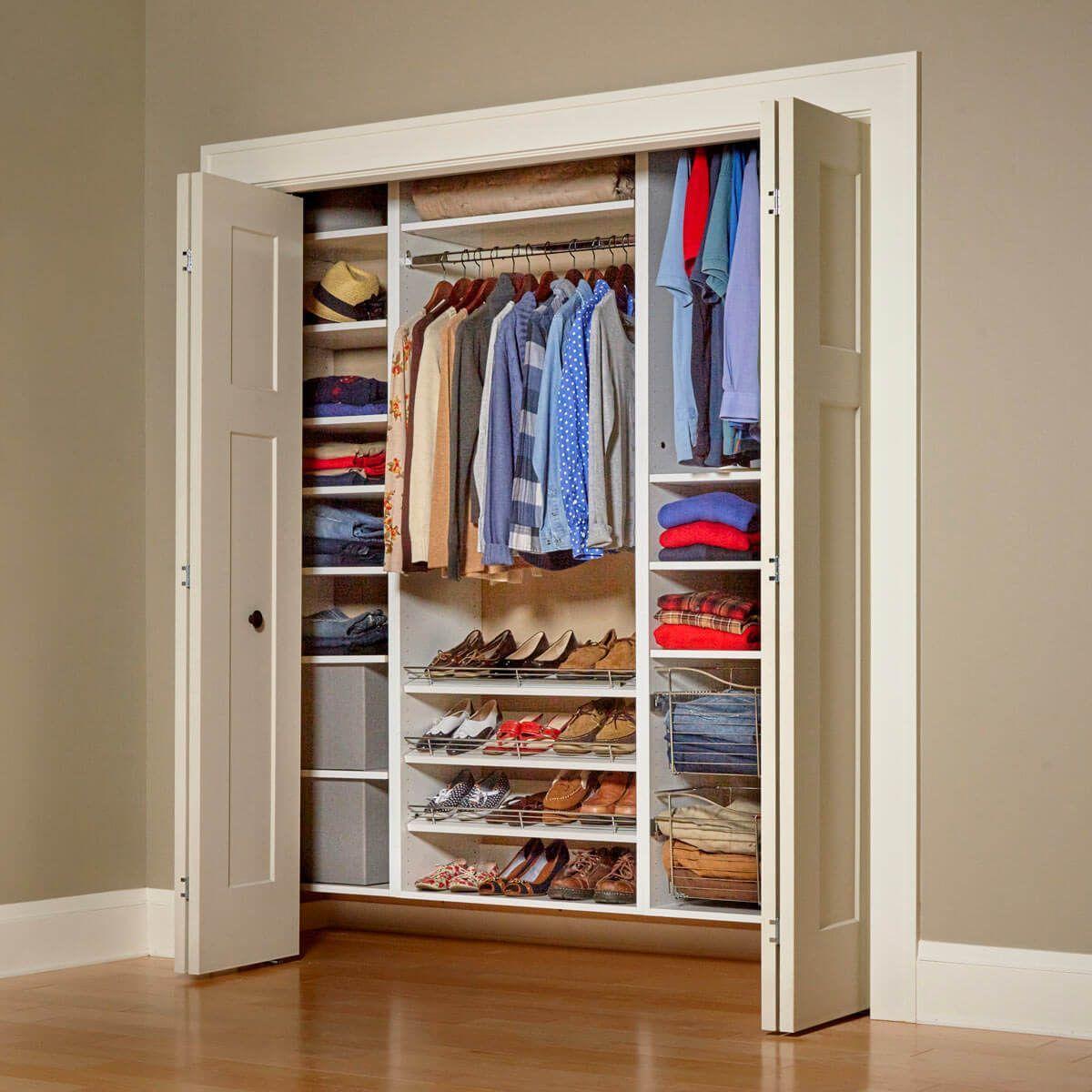 21 cheap closet updates you can diy closet built ins
