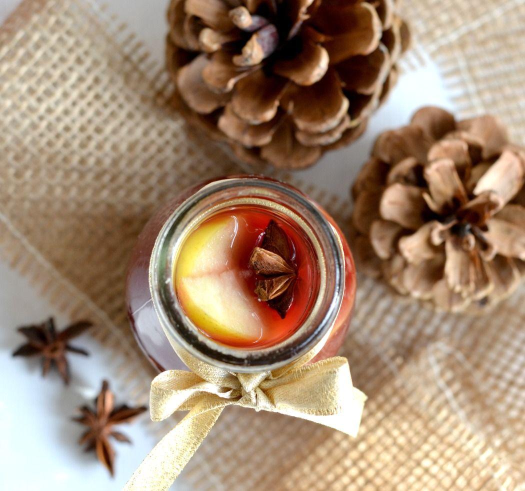 Rezept: Ganz ohne Alkohol kommt der dunkle Früchtepunsch aus #rezept #recipe #punsch #früchte #ohnealkohol #winter #weihnachten