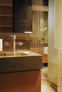 Concrete bathroom sink - modern - bathroom sinks - new york - Concrete Shop