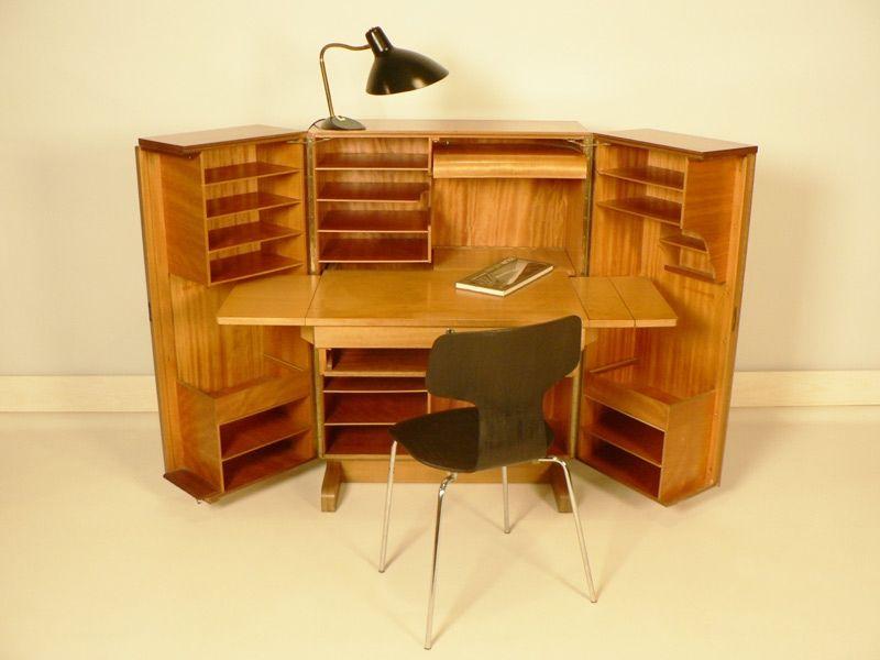 bureau compactum ann es 50 j 39 veux pinterest ann es 50 annee et bureau. Black Bedroom Furniture Sets. Home Design Ideas