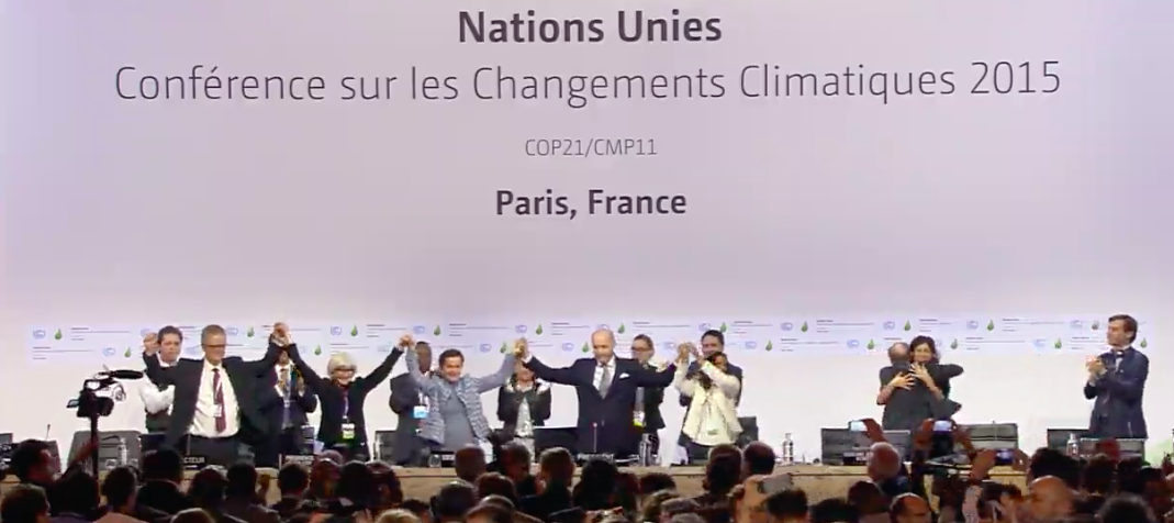 World Organisations React To Paris Cop21 Climate Accord Climate