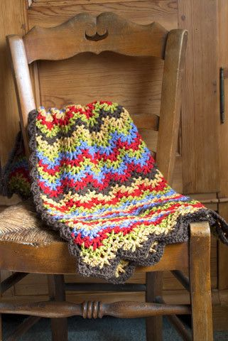 Vintage Crocheted Blanket Pattern Crochet Blankets Blanket And
