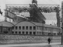 Titanic prior to launch
