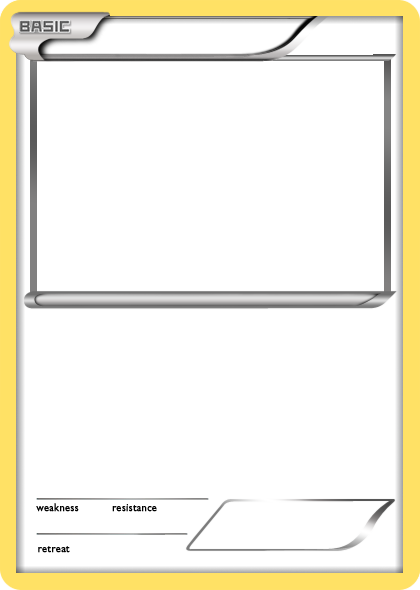 pokemon templates print blank pokemon card classroom pinterest pok mon