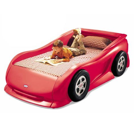 Cherry Red Sports Car Twin Bed For 359 99 Littletikes Car Bed