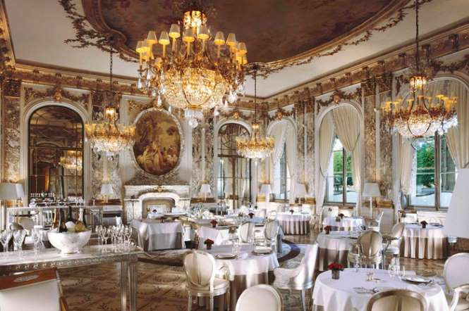 At Le Meurice, renowned chef Alain Ducasse knows how to put together a costly menu. His collection m... - Dorchester Collection