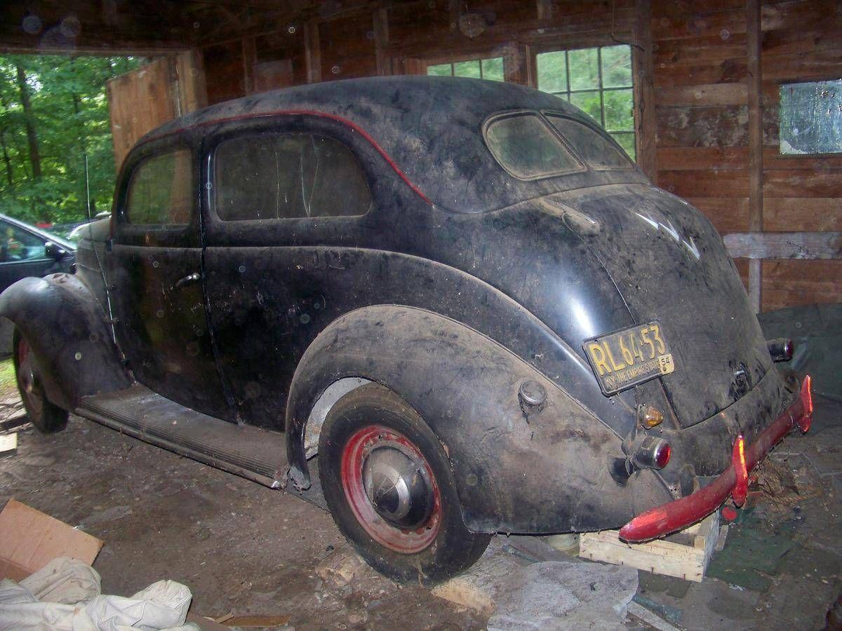 1937 Ford Deluxe 2-Door Sedan   Barn Finds,Junk Yard Cars etc ...