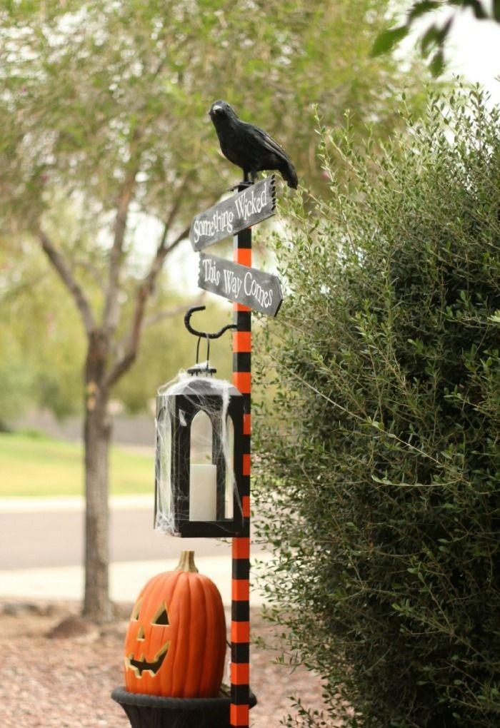 Outdoor Yards Halloween Decorations Diy halloween yard decorations