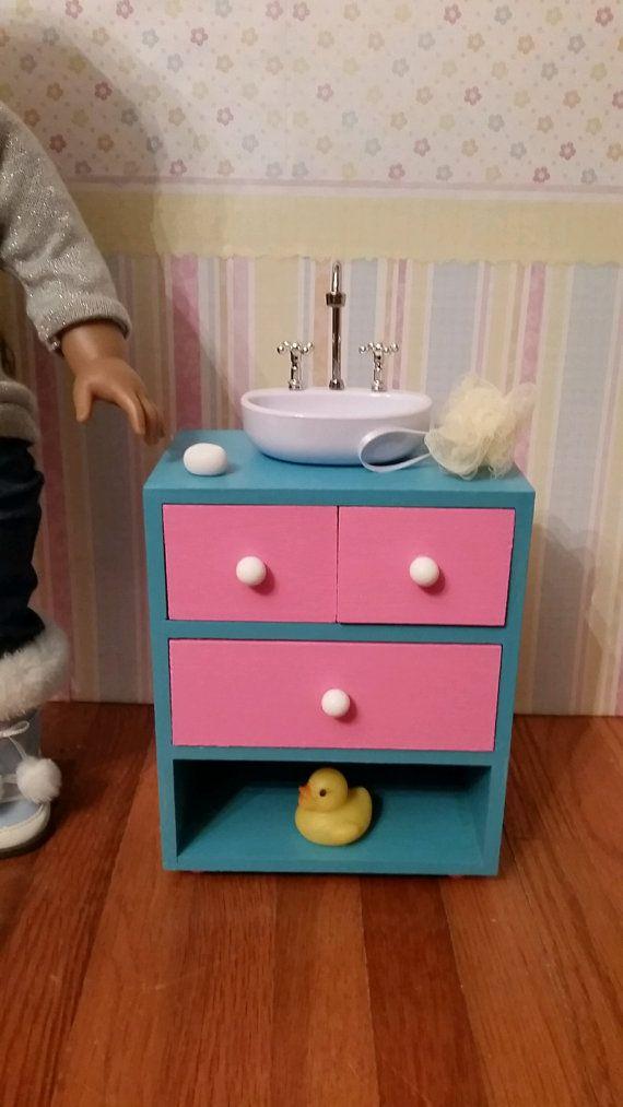 American Girl Doll Furniture Rocker 18 Doll Furniture White