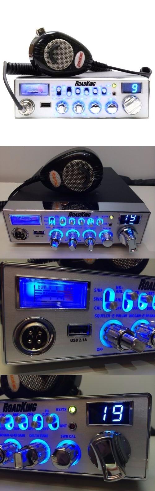 CB Radios: Roadking Cb Radio 40 Channel Turner Rk56 Mic 4Pin Blue