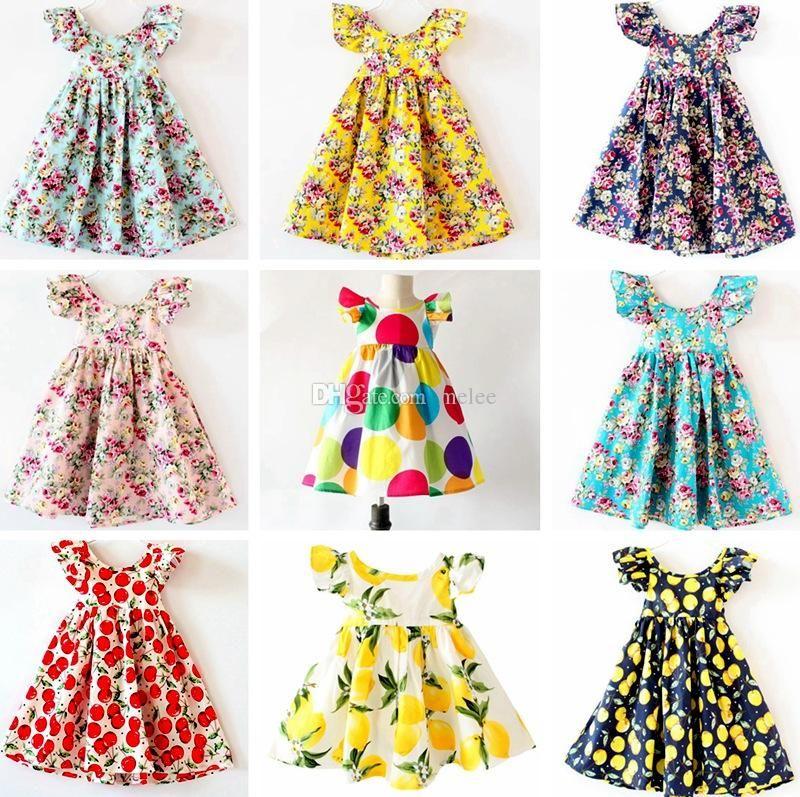 12b43d5ce Girls White Bow Dress Summer Princess Embroidery Ruffles Sleeveless Dresses  Sundress Kids Children Cotton Bowknot Pleated Dresses Clothes UK 2019 From  ...