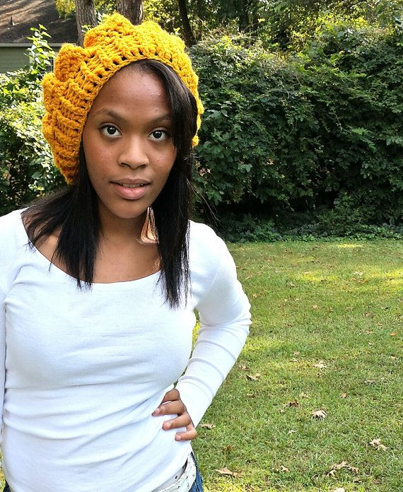 so slouchy beret by soknottyknits on Etsy, $20.00