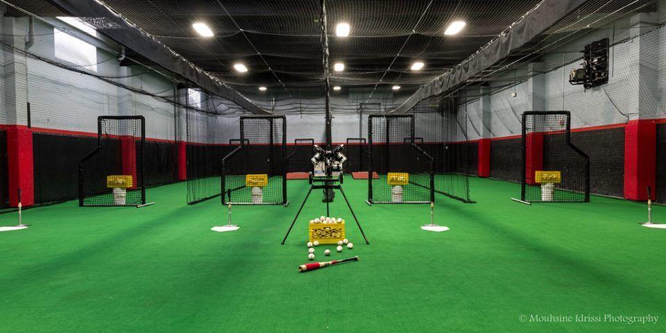 Home Hudson Baseball Center Indoor Batting Cage Batting Cages Indoor Sports
