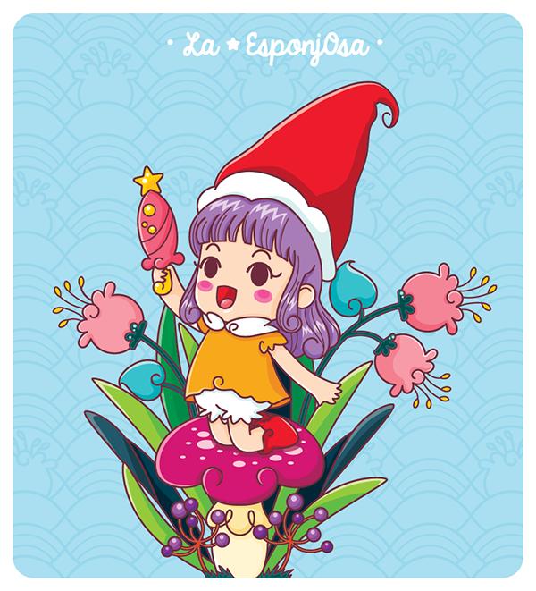 Fan Art 4 on Behance kawaii cute illustration