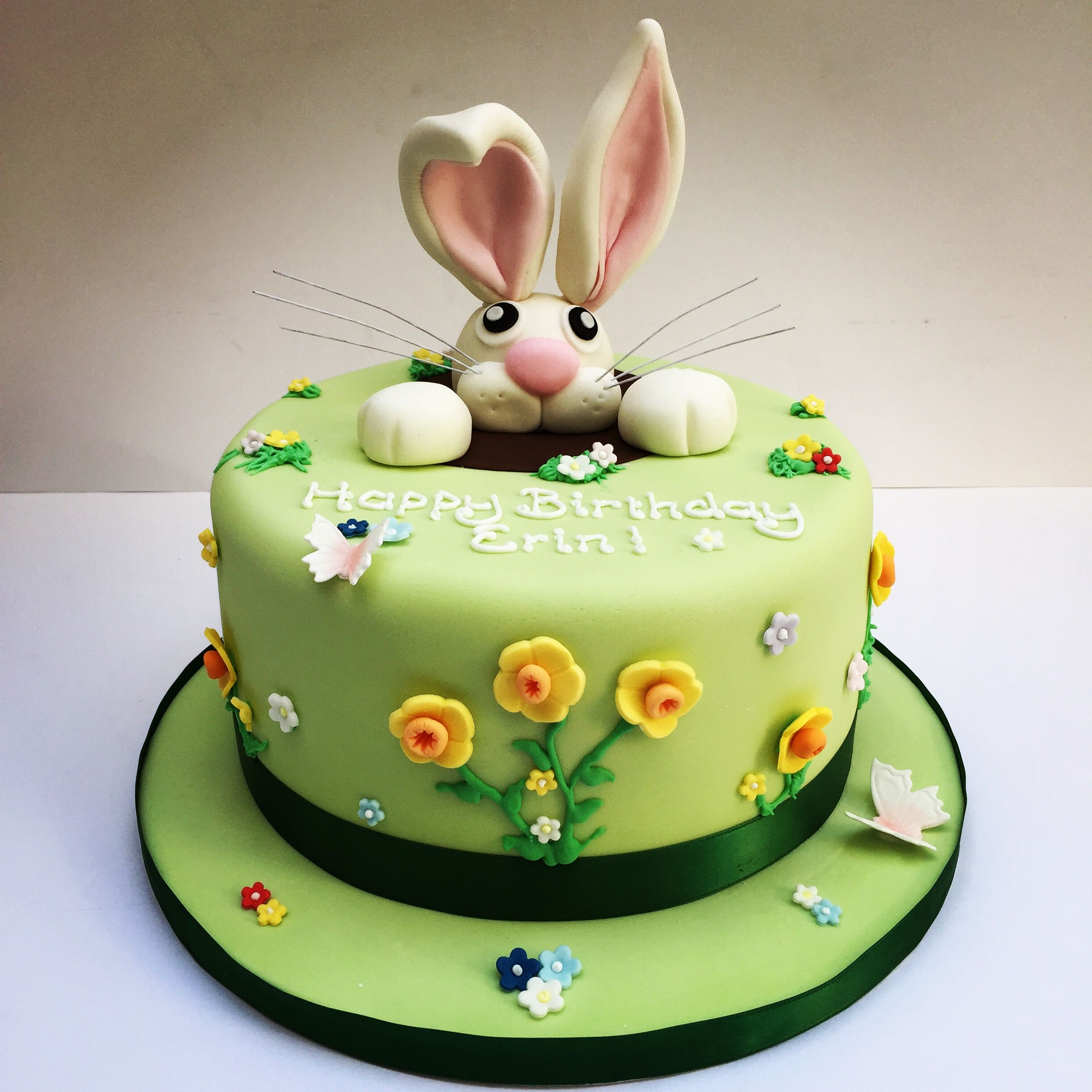 Birthday Cakes Etoile Bakery Rabbit Party Pinterest