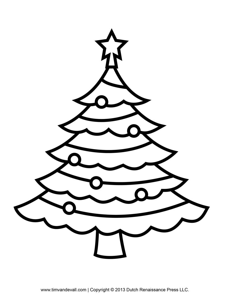 Kids coloring pages christmas trees printable - In This Page We Are Providing Christmas Tree Coloring Pages For Kids Adult And Printable Coloring Pages
