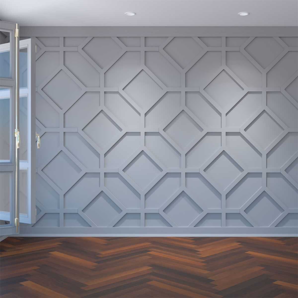 Large Cameron Decorative Fretwork Wall Panels In Architectural Grade Pvc Walmart Com In 2020 Pvc Wall Panels Decorative Wall Panels Pvc Wall