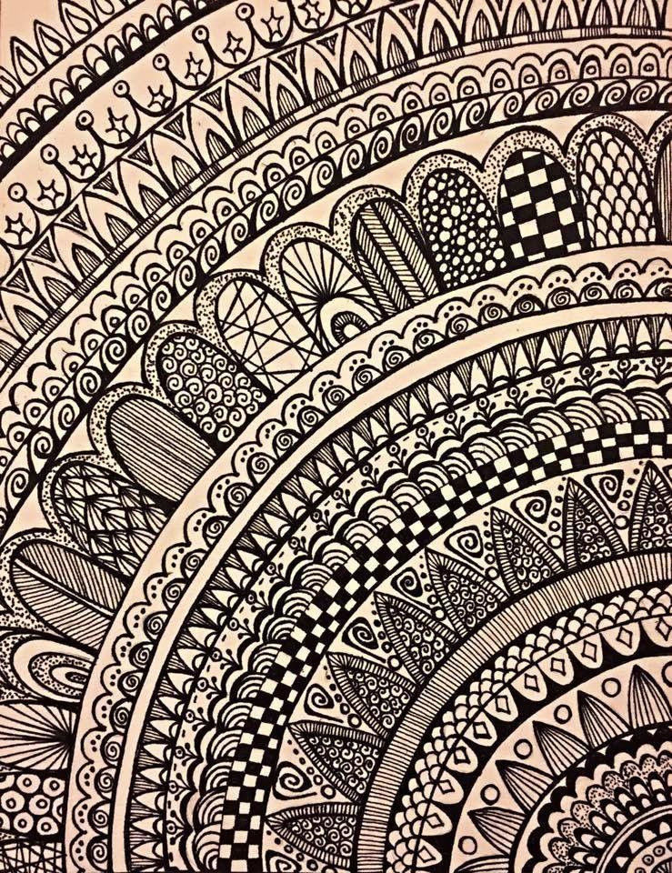 Doodles Art In 2019 Mandala Drawing Mandala Drawings