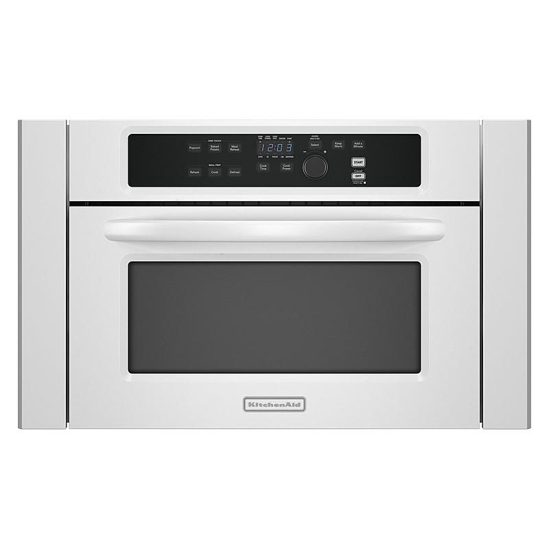 Kitchenaid Kbms1454swh 24 1 4 Cu Ft Built In Microwave Oven Sears Outlet Built In Microwave Built In