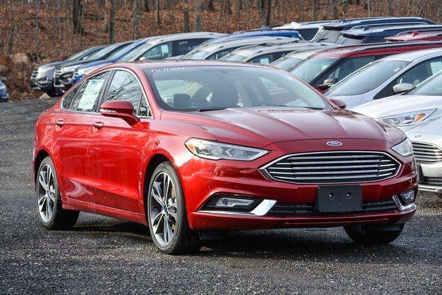 2017 Ford Fusion Titanium Sedan Car Ford Ford Fusion Ford