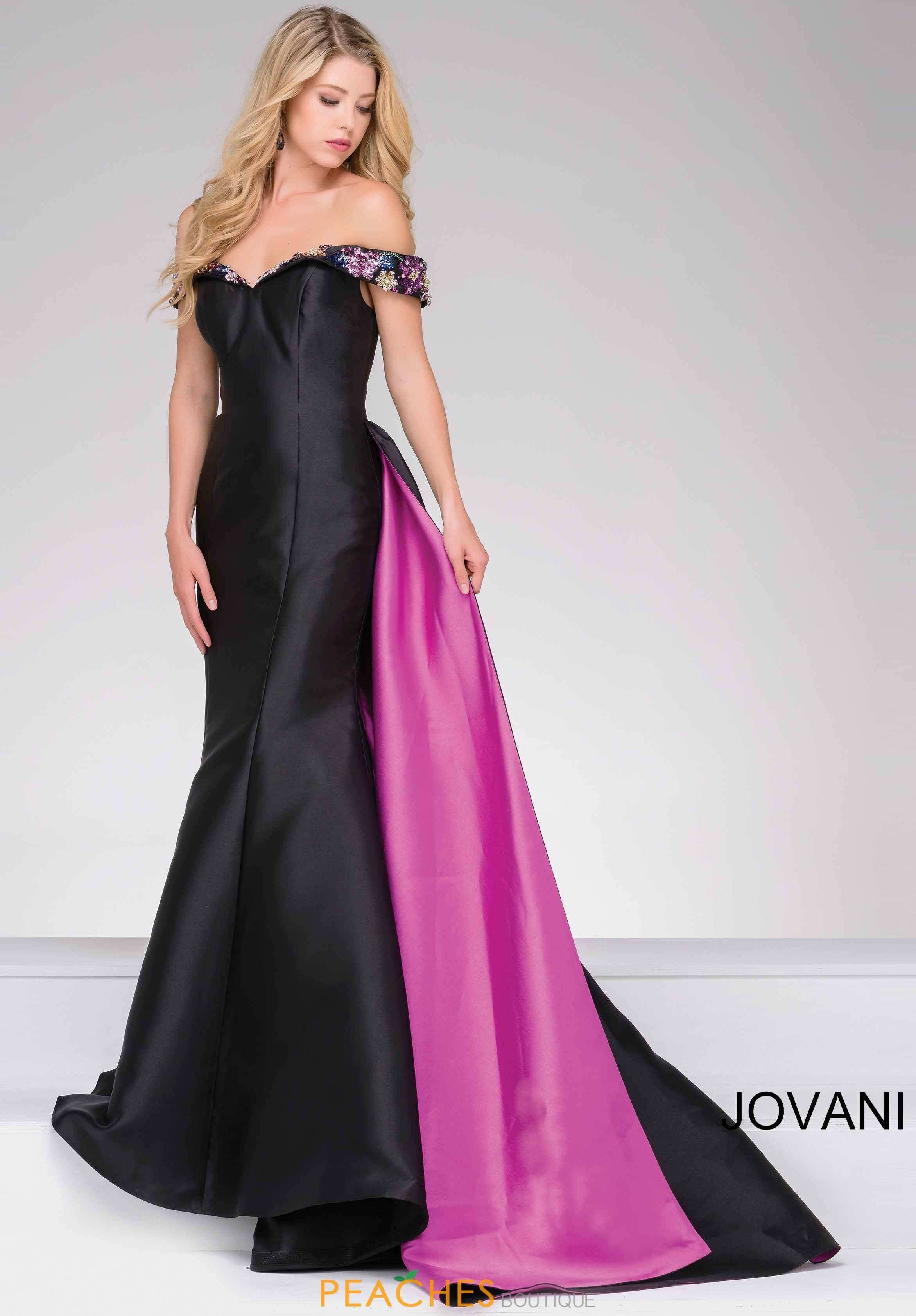 Jovani Full Figured Taffeta Dress 48747 | Pageant Perfection | Pinterest