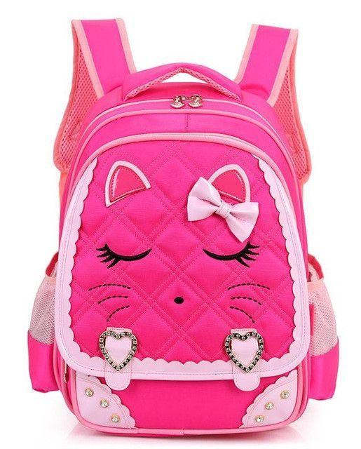 Cute Girls Backpacks Kids Satchel Children School Bags For Girls Orthopedic  Waterproof Backpack Child School Bag Mochila Escolar 6feed49a07173