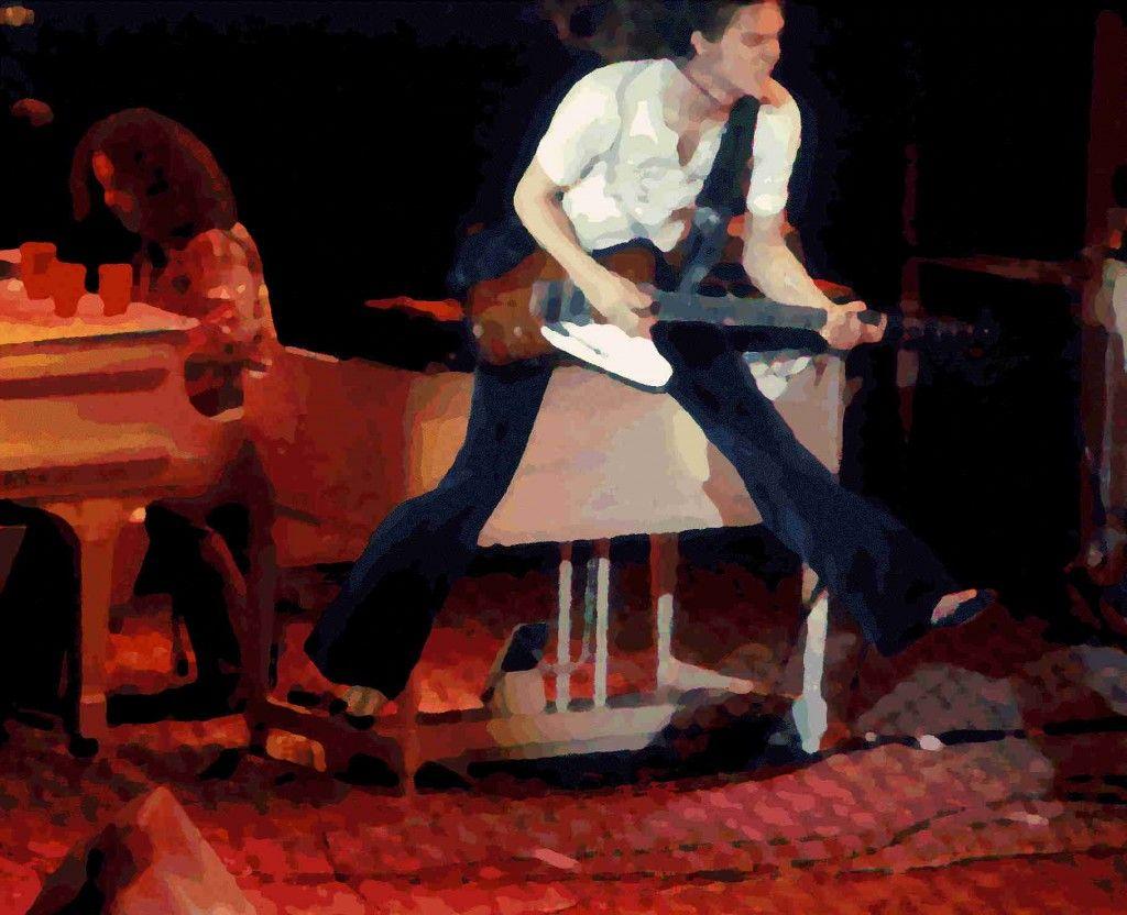 The Allen Collins leap   Lynyrd Skynyrd 1970s   Pinterest ...