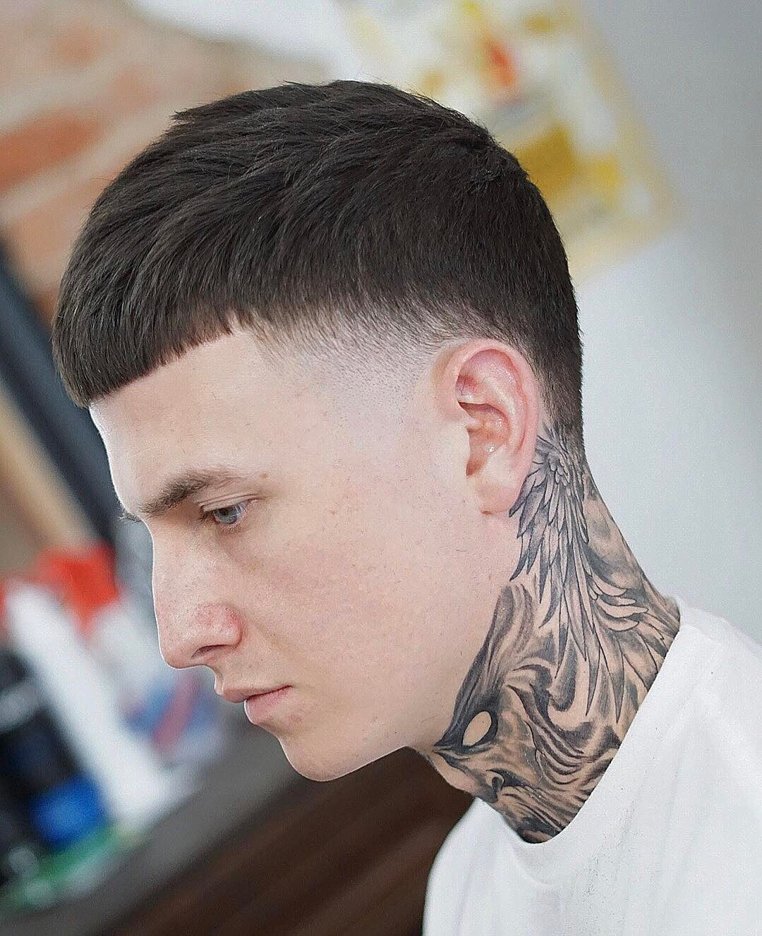 Caesar haircut cut bangs bang hair and haircuts the caesar haircut is one of these classic mens hairstyles that never goes out of style it is characterized by short horizontally straight cut bangs solutioingenieria Choice Image