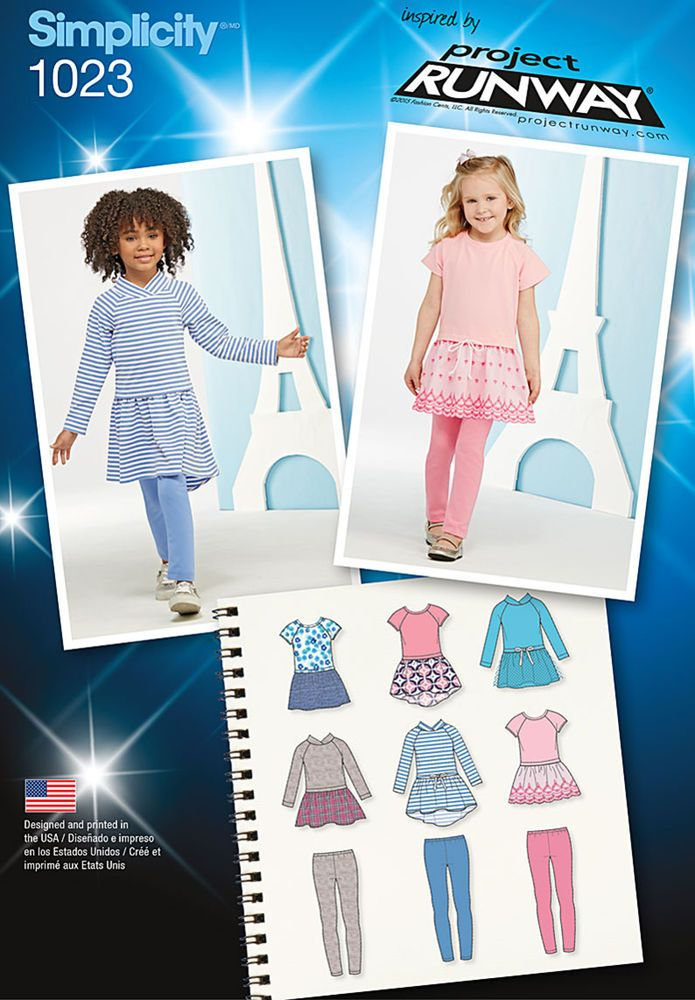 child\'s dress bodice is made of stretch knit fabric paired with ...