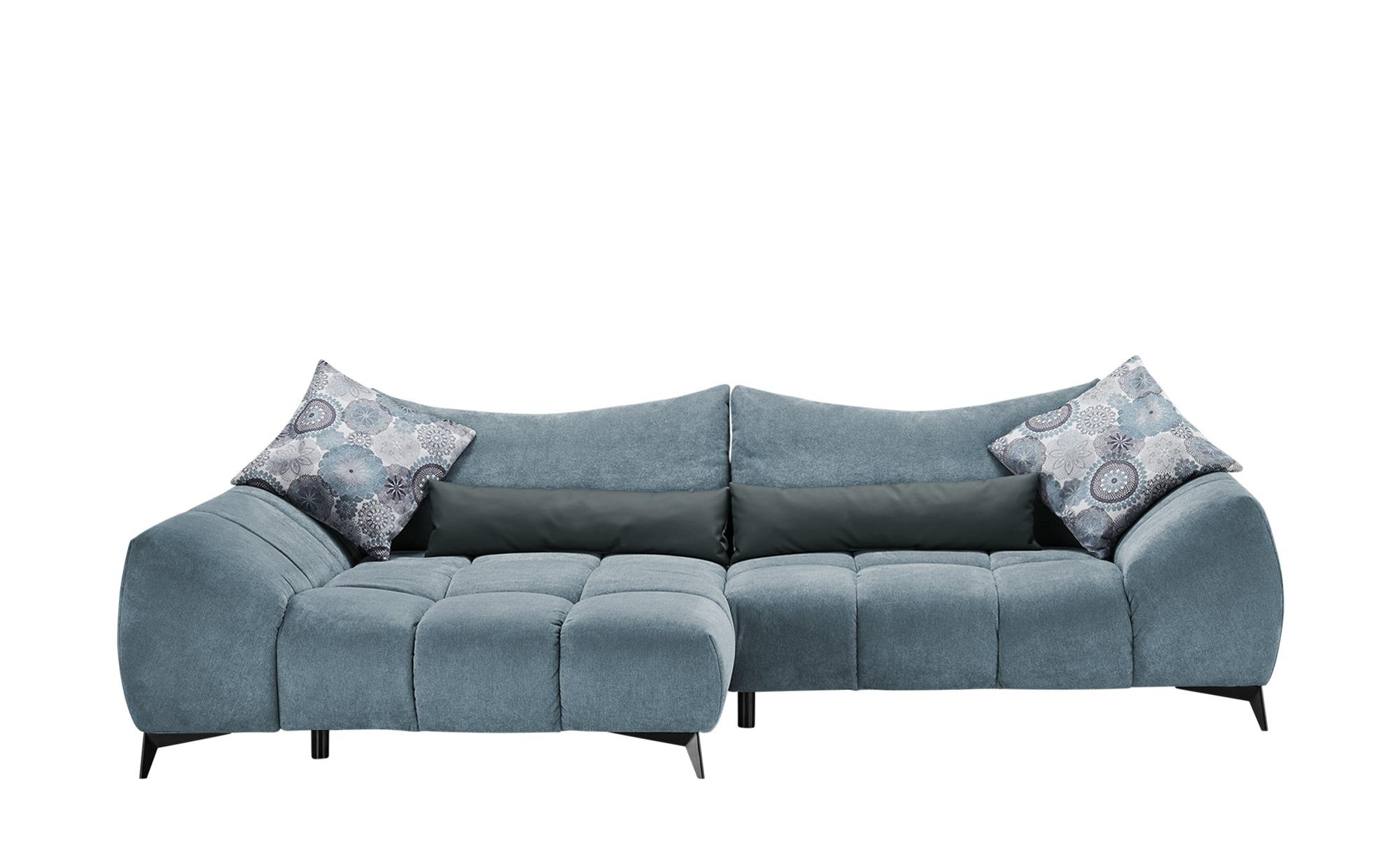 bobb ecksofa blau 91 cm polsterm bel sofas. Black Bedroom Furniture Sets. Home Design Ideas